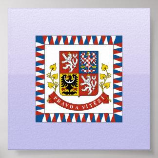 the president theech Republic, Czech Poster