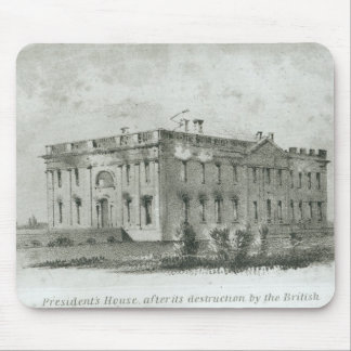 The President's House After its Destruction Mouse Pad