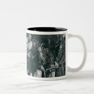 The Press Gang in New York Two-Tone Coffee Mug