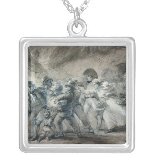 The Press-gang Silver Plated Necklace