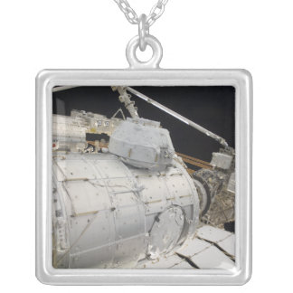 The Pressurized Mating Adapter 3 Silver Plated Necklace