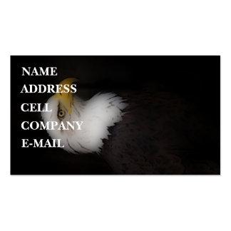 'The Prestigous Bald Eagle' Business Card
