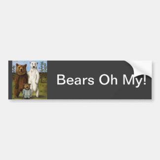 The Pretender 3 with Bears Bumper Sticker