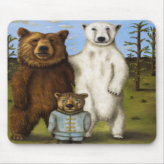 The Pretender 3 with Bears Mousepad