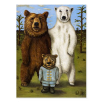 The Pretender 3 with Bears Postcard