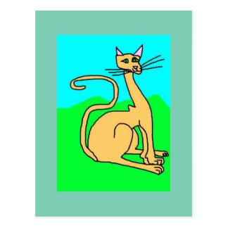 The Pretty Cat Postcard