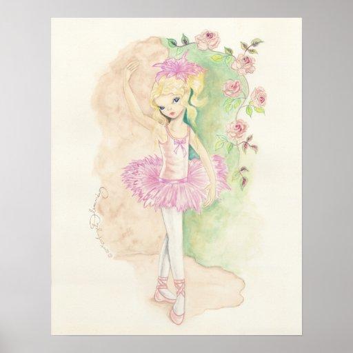 The Pretty Little Ballerina Poster
