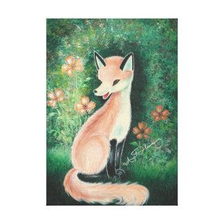 The Pretty Little Fox Gallery Wrap Canvas