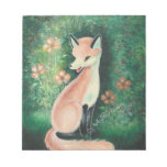 The Pretty Little Fox Note Pads
