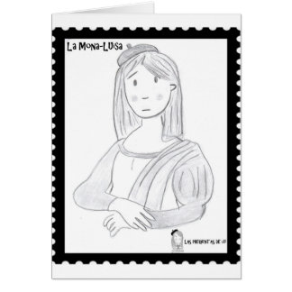 The pretty Luisa Card