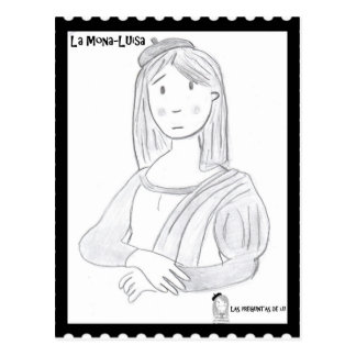 The pretty Luisa Postcard