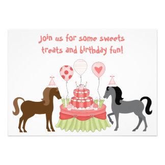 Pretty pony birthday cards more