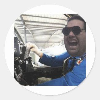 The Prevencionistas - Ricardo 1 Classic Round Sticker