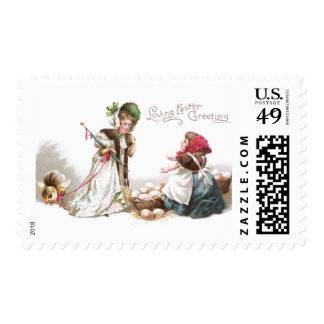 The Price of Eggs at Easter Stamp