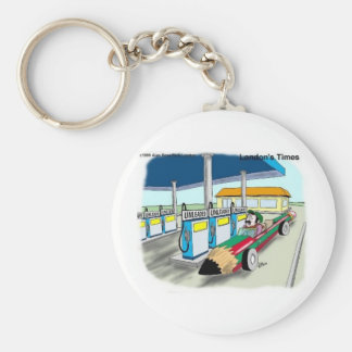 The Price Of Gas Funny Cartoon Gifts & Collectible Keychain