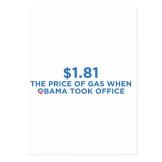 The Price of Gas Postcard