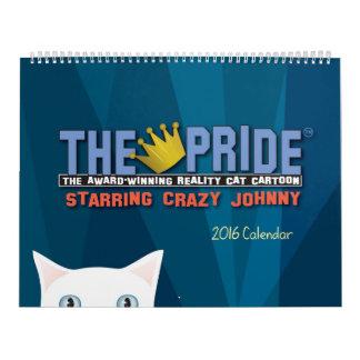 The Pride Cartoon 2016 Calendar