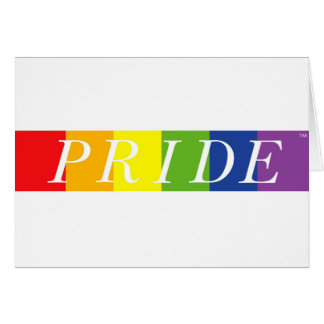 The Pride Line Card