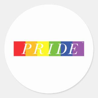 The Pride Line Classic Round Sticker