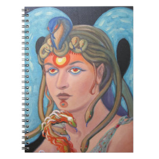 The Priestess and the Plumed Serpent Notebook
