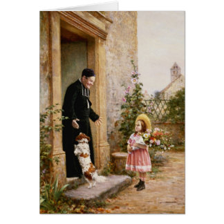 The Priest's Birthday Card