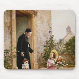 The Priest's Birthday Mouse Pad