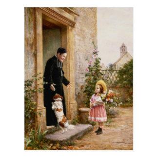 The Priest's Birthday Postcard