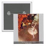 The Prima Ballerina (Rosita Mauri) By Edgar Degas Pinback Buttons