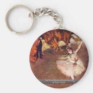 The Prima Ballerina Rosita Mauri By Edgar Degas Keychain