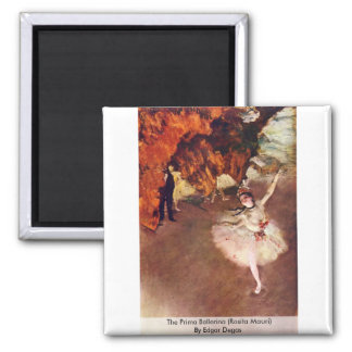 The Prima Ballerina (Rosita Mauri) By Edgar Degas Magnets