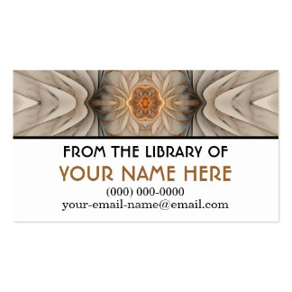 The Primal Om Media Cards Double-Sided Standard Business Cards (Pack Of 100)