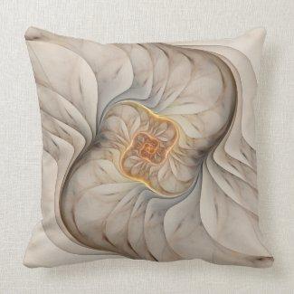 The Primal Om Square Throw Pillow mojo_throwpillow