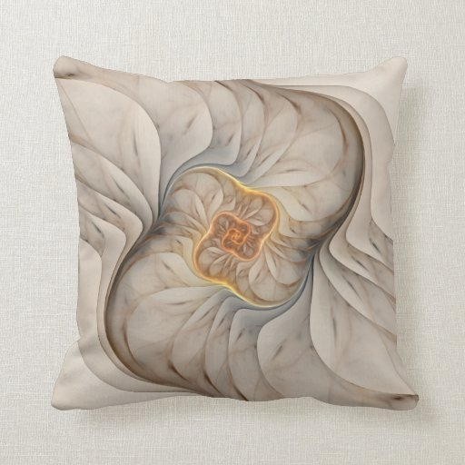 The Primal Om Throw Pillow