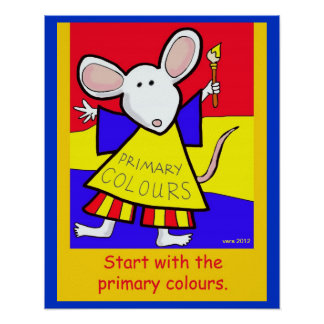 The Primary Colours Poster