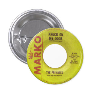 The Primates - Knock On My Door Pinback Button