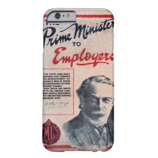 The Prime Minister to_Propaganda Poster Barely There iPhone 6 Case