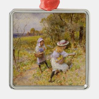 The Primrose Gatherers Christmas Tree Ornament