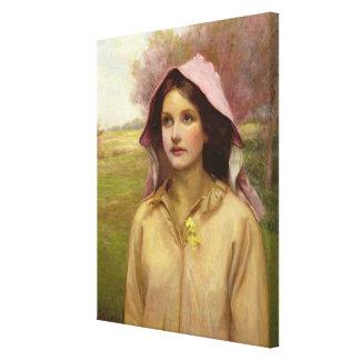 The Primrose Girl Canvas Print