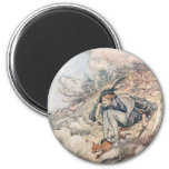 The Prince and the Fox 2 Inch Round Magnet