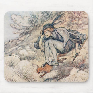 The Prince and the Fox Mouse Pad