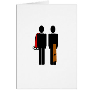 The Prince and the Pauper Greeting Card