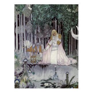 The Prince and the Pool Postcard