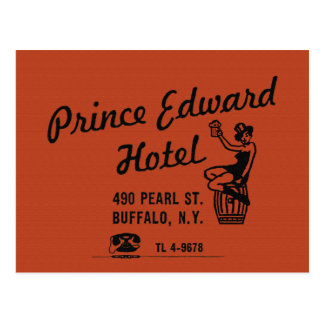 the Prince Edward Hotel Post Card
