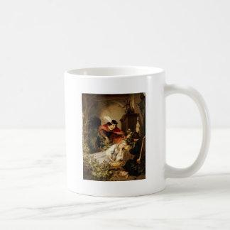 The Prince Leans Toward Sleeping Beauty Coffee Mug