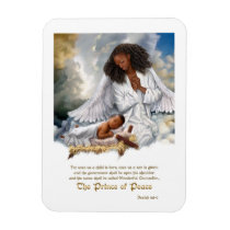 The Prince of Peace. Angel and Baby Jesus Magnet
