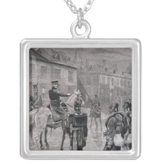 The Prince of Prussia Silver Plated Necklace