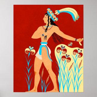 The Prince of the Irises Print