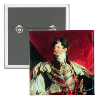 The Prince Regent, later George IV 2 Pinback Button