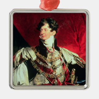The Prince Regent, later George IV 2 Metal Ornament