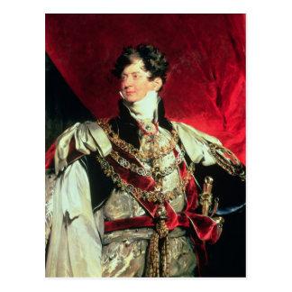 The Prince Regent, later George IV 2 Postcard